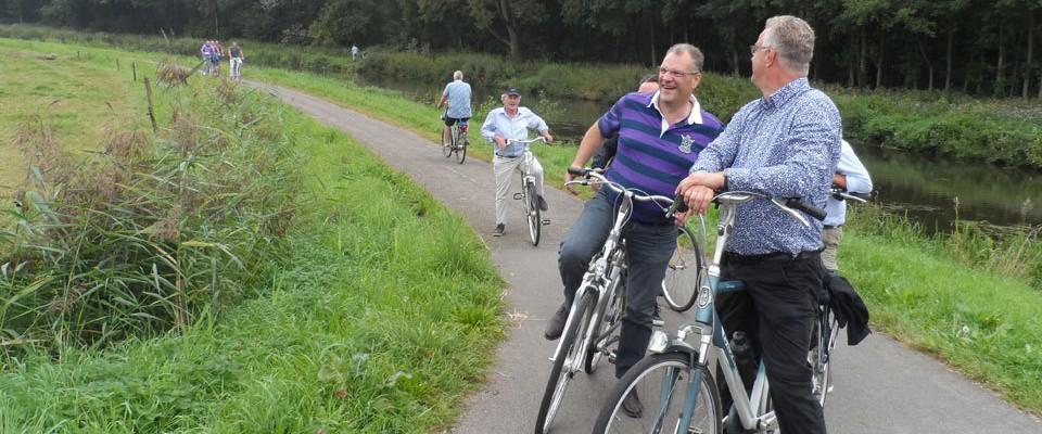 De jaarlijkse fietstocht