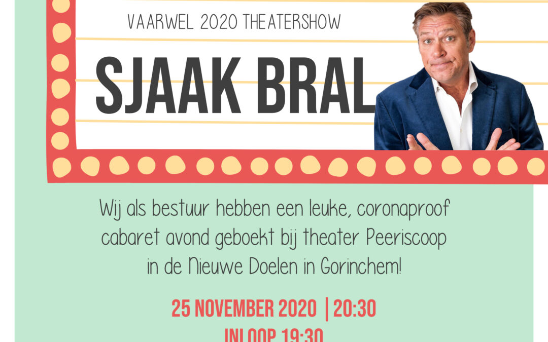 Sjaak Bral – Vaarwel 2020