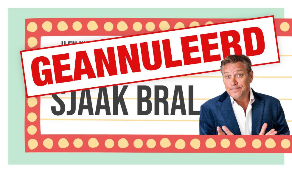 Afmelding Sjaak Bral woensdag 25 november 2020